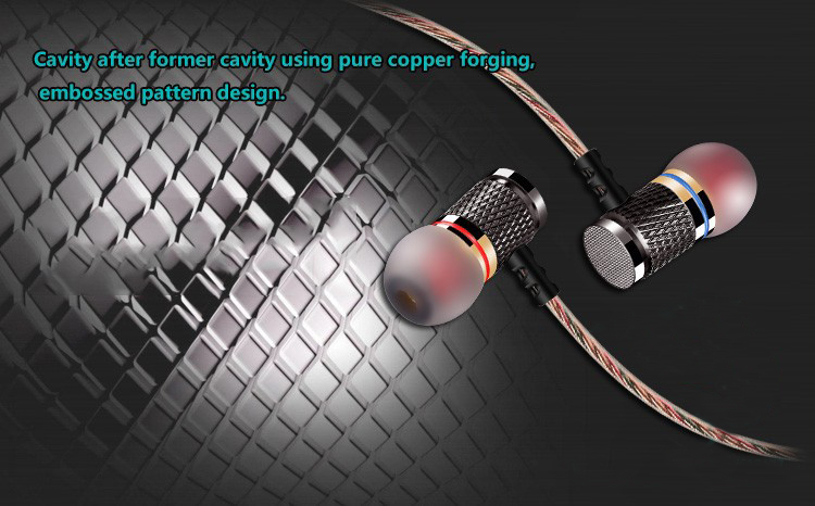 KZ-ED2 Professional In-Ear Earphone Metal Heavy Bass Sound Quality Music Earphone China's High-End Brand Headset fone de ouvido
