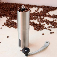 Fuloon Brand Manual Stainless Steel Hand Crank Design Coffee Grinder for Coffee Beans, Pepper and Spices (China (Mainland))