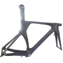free shipping 700c carbon TT frame timetrial bike frame bicycle frame triathlon bike frame(China (Mainland))