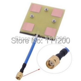 FPV Panel/Patch High Gain 5.8 GHz 14DBi Video/Audio Receiver Antenna for Long Range(China (Mainland))