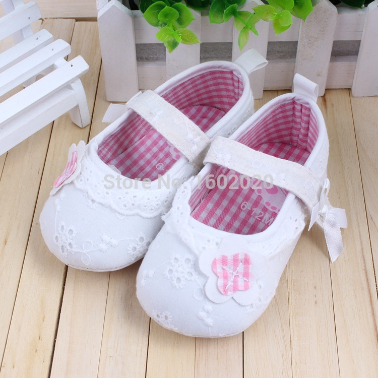 Best Quality Boy's and Girl'sVery Soft Sole Shoes Baby First Walkers Brand Shoes Size 1-3(China (Mainland))