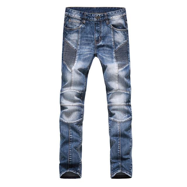 Мода мужчин джинсы новое поступление дизайн slim-подходят мода джинсы для мужчин ...