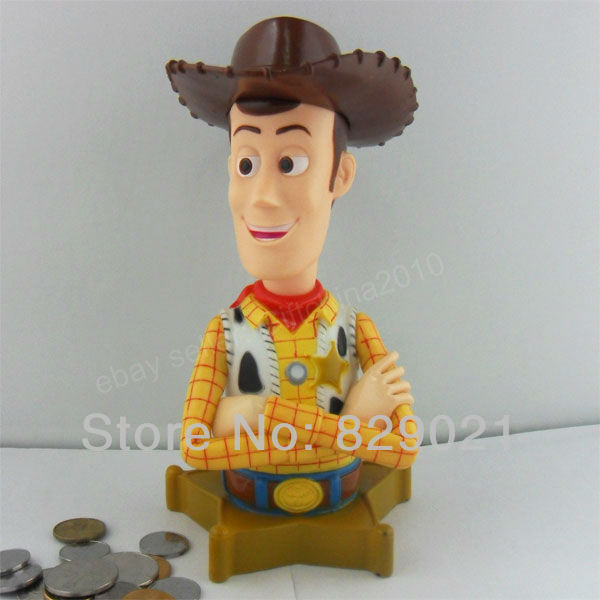 Toy Story Money Money Money : Free shipping pcs big piggy money coin bank toy story