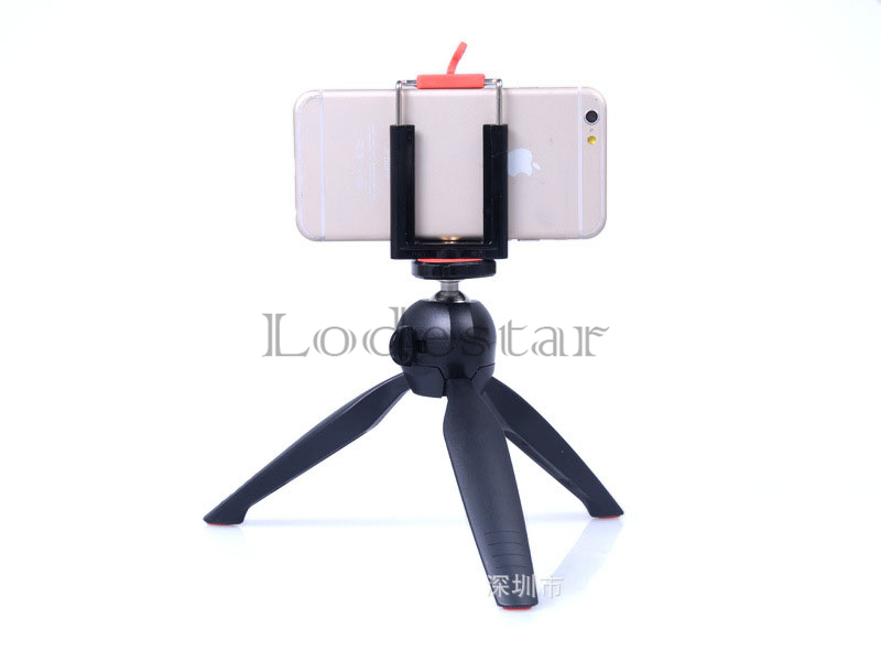 Original Brand Tripod YUNTENG 228 for DSLR Digital Camera / GoPro Camera / phone Clip holder for Smart phone 5 5s 6 plus Monopod(China (Mainland))
