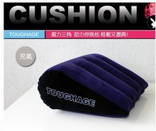 Sex Pillow TOUGHAGE magic triangle pillow sexy versatile inflatable cushion toys adult sex furniture sex toys for couples(China (Mainland))