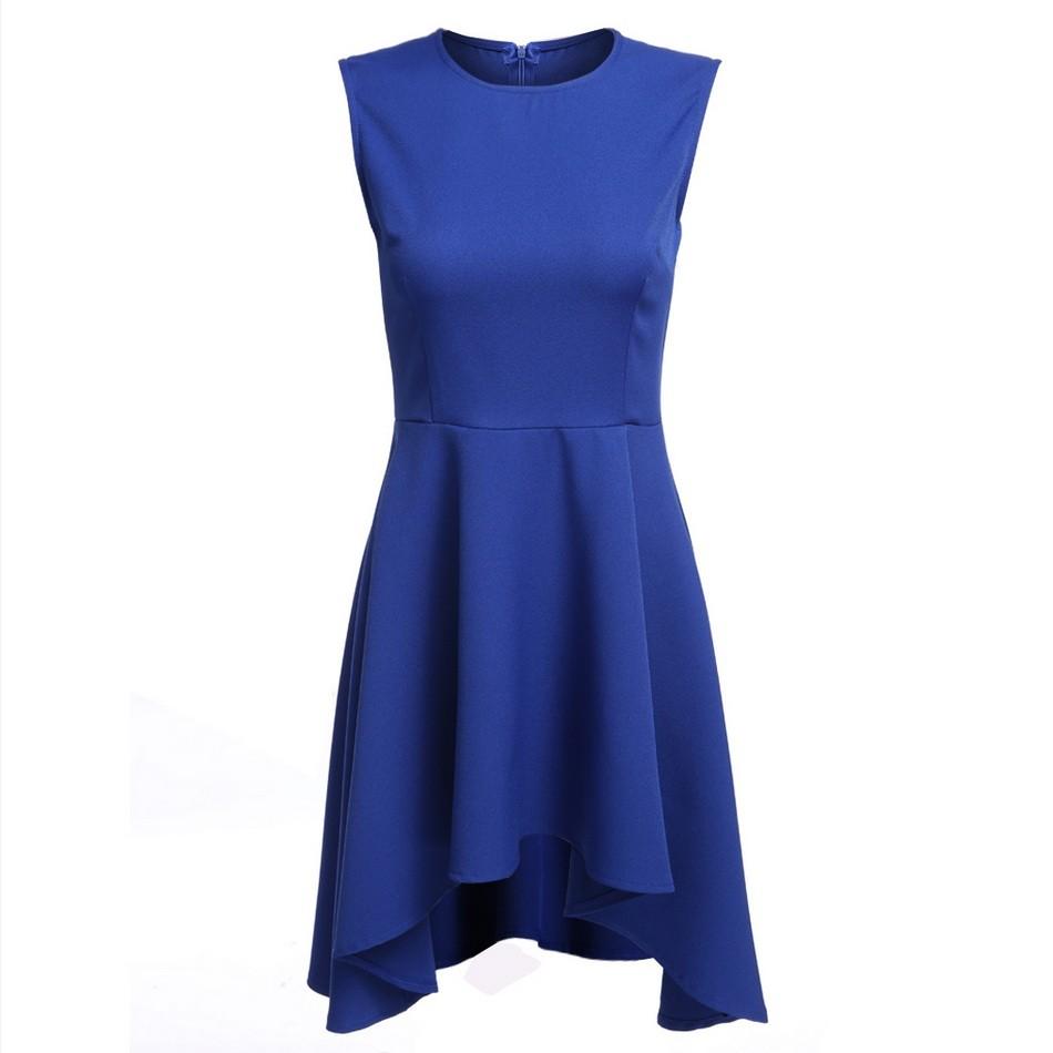 Women pencil dress plunge v neck short sleeve midi length slim bodycon