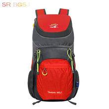 Free Ship 7 Colors 40L Nylon Folding Waterproof Backpack Bike Rucksacks Road Bag Knapsack Riding Backpack Ride Pack(China (Mainland))