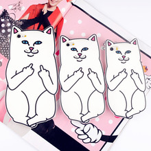 "For iPhone 4s/ 5 5s / 5C / 6 6s 4.7"" / 6 Plus 6s Plus 5.5"" RIPNDIP Pocket Cat Silicone Rubber Cell Phone Cases Covers Phone Case(China (Mainland))"