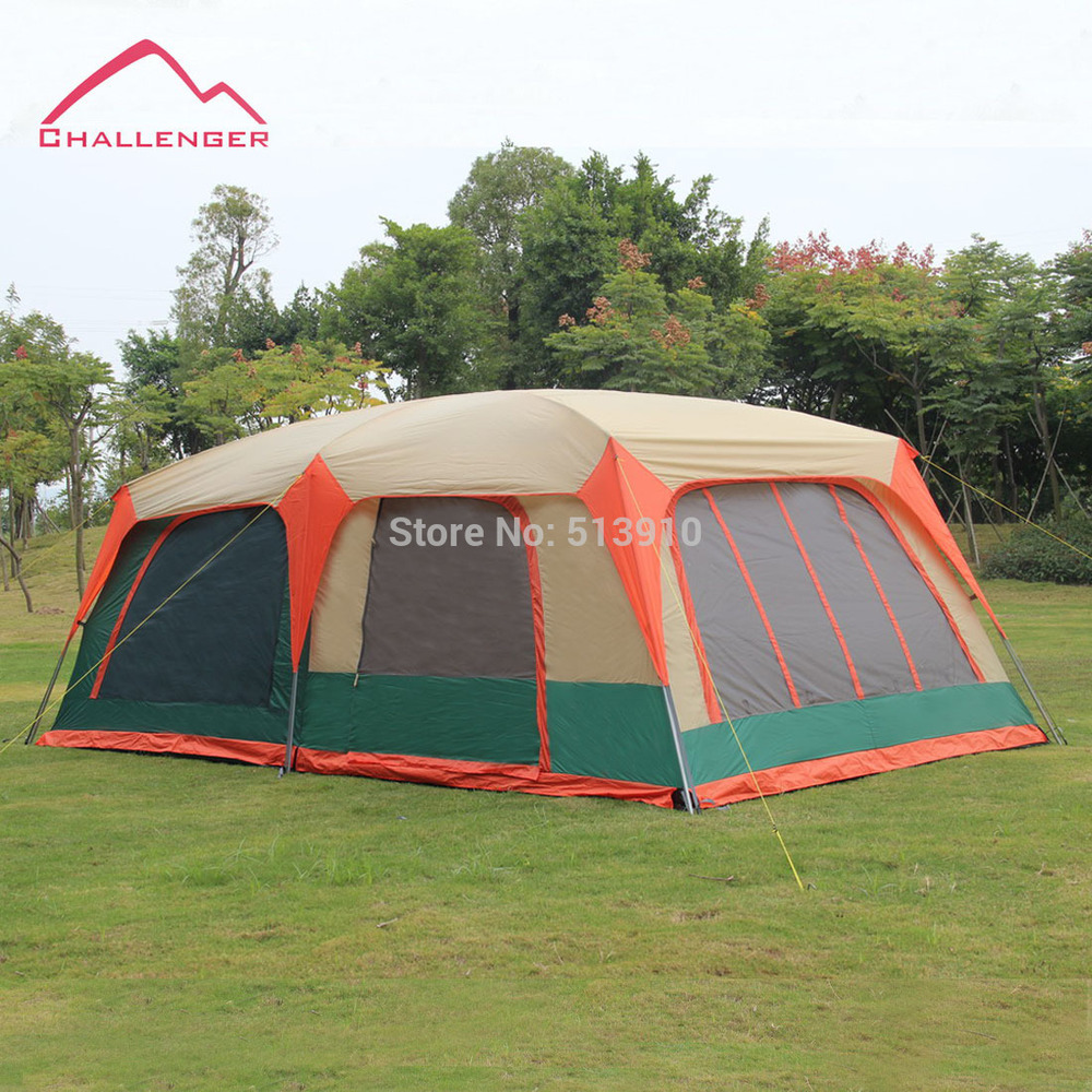 Tent In A Can : Challenger super large family tent person double