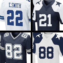 Men's 21 Jason Witten Jerseys Adult Embroidery Logos 88 Dez Bryant 22 Emmitt Smith 82 Jason Witte Jersey Thanksgiving Day blue F(China (Mainland))