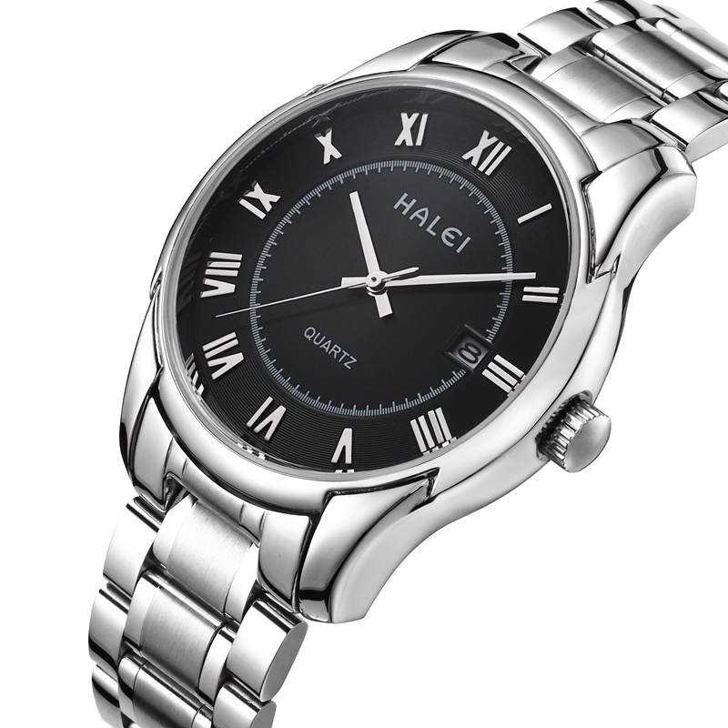 2015 Luxury Brand 316L Stainless Full Steel Wrist Men Watch Male Date Clock Man Casual Quartz Watch Sport Relogio Masculino