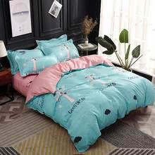 Svetanya print Bedding set cheap sheet Pillowcase Blanket /Duvet/Quilt Cover set Bed Linens(China)