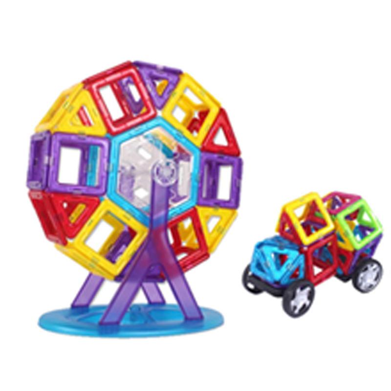 Best Magnetic Toys For Kids : Pcs set children educational toys magnetic blocks