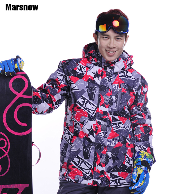 Dropshipping skiing jacket male Free shipping thicken warm waterproof windproof clothing snowboard coat snow jacket for mens(China (Mainland))