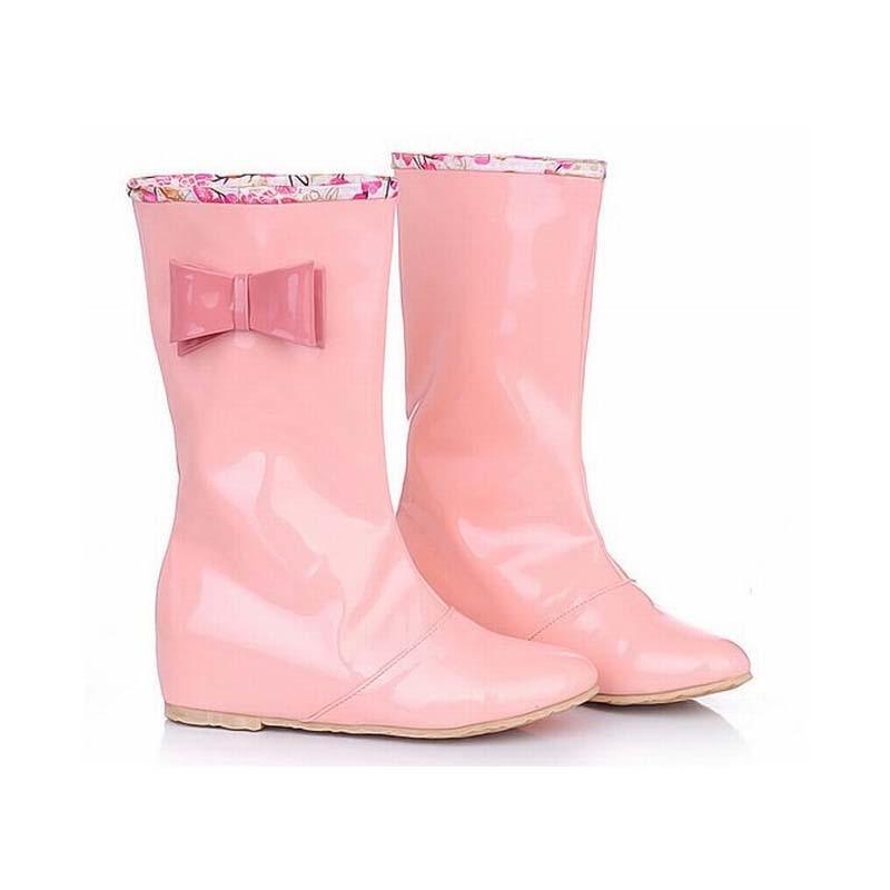 popular cute rain boots with bowsbuy cheap cute rain