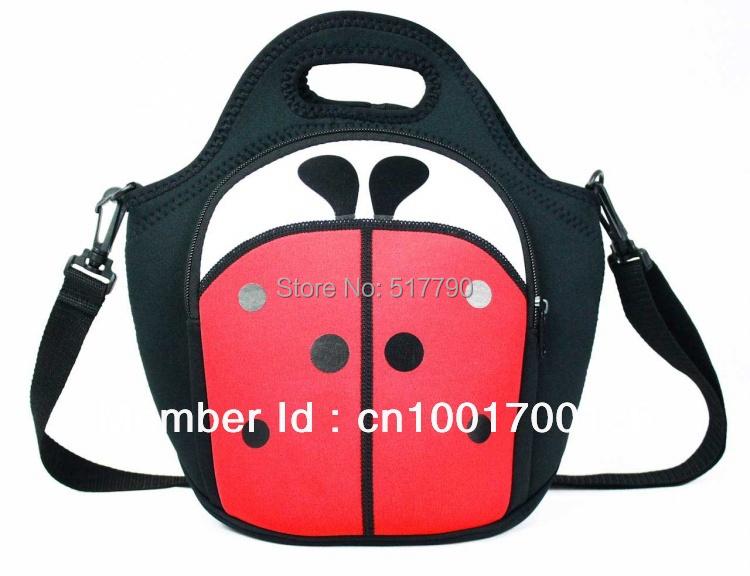 Neoprene Lunch Bag With Shoulder Strap 58