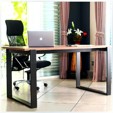 all solid wood desk minimalist modern simple scandinavian. Black Bedroom Furniture Sets. Home Design Ideas