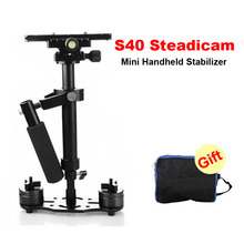 DHL S40 40cm Professional Handheld Stabilizer Steadicam for Camcorder Digital Camera Video Canon Nikon Sony DSLR