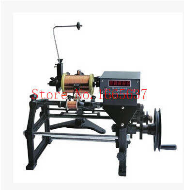 Automatic Coil Wire Winding Machine Hand Coil Winder w/ Electronic Counting function FZ-160(China (Mainland))