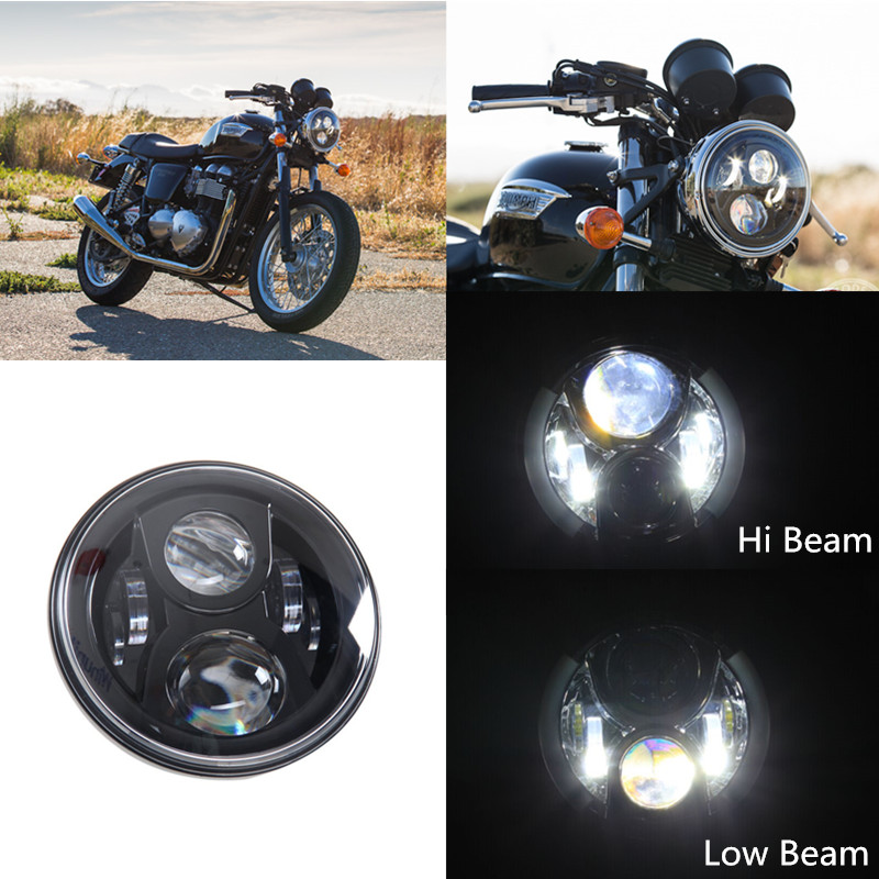 """Black 7"""" Round Daymaker LED Projector Headlight For Jee p Wrangler Harley David Son Motorcycle(China (Mainland))"""