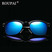 Buy ROUPAI Brand 2017 Fashion Aluminum Magnesium Polarized Sunglasses Men Sun Glasses UV400 Driving Eyewear Male oculos Shades for $15.18 in AliExpress store
