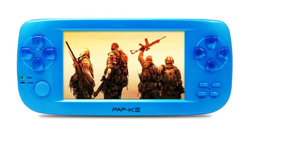 Best console game K3 Console Handheld 8 16 32bit 3D Emulator Video Game Player LCD 4.3 inch(China (Mainland))