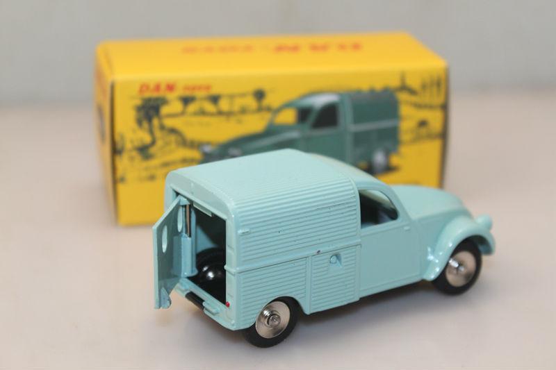Diecast Toy cars 1/43 diecast Atlas DAN Toys DAN- 021 CITROEN 2CV FOURGONNETTE ESPAGNOLE(China (Mainland))