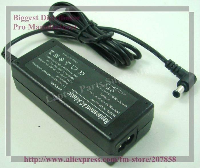 Адаптер ноутбука Power Adapter/Supply for Sony 65W 19.5v 3.3a 6,5 * 4.4 AC Sony pcga/AC19v pcga/AC16v1 pcga/AC19v1 vgp/AC19v43 vgp/AC19v44 PCGA-AC19V PCGA-AC16V1 PCGA-AC19V1 VGP-AC19V43 VGP-AC19V44  цена