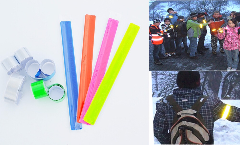 High Visibility Cycling reflective strips warning Bike Safety Bicycle Bind Ankle Band Leg Strap accessories reflective