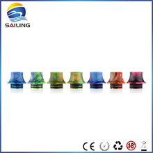 Buy Sailing vape Epoxy resin drip tips mouthpiece wide bore Griffinn 25 RTA electronic cigarette 10pcs wholesale for $40.00 in AliExpress store