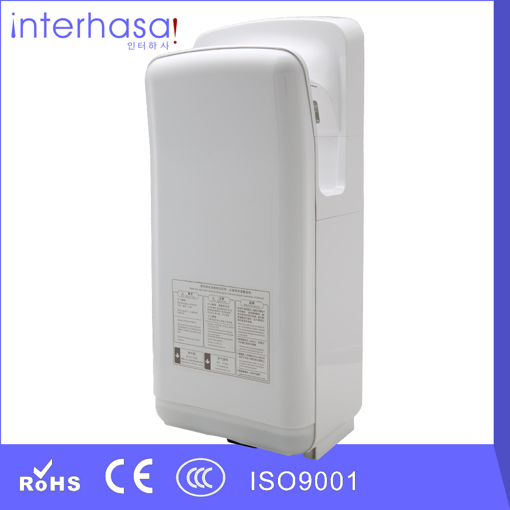 High speed 1800W double jet air sensor ABS lower noise hand dryer for bathroom(China (Mainland))