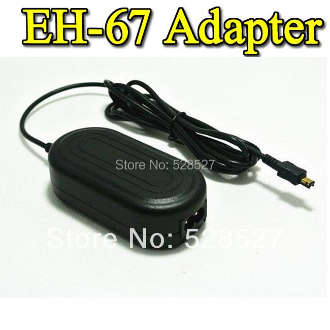 AC Adapter EH-67 EH67 For Nikon L820 L810 L320 L310 L120 L110 L100,P6000 Camera adaptador Adaptor 5V 2A(China (Mainland))