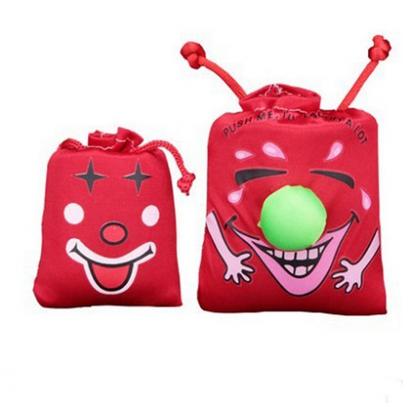 Funny creative Tricky whole person Funny Funny novelty toys Music Laughing Bag Haha Bag(China (Mainland))