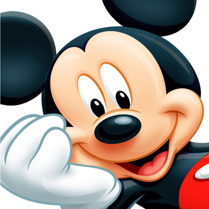 FOR Mickey Mouse Diamond Embroidery 3D for Crafts Diamond Mosaic Cartoon for Home Decor Picture of