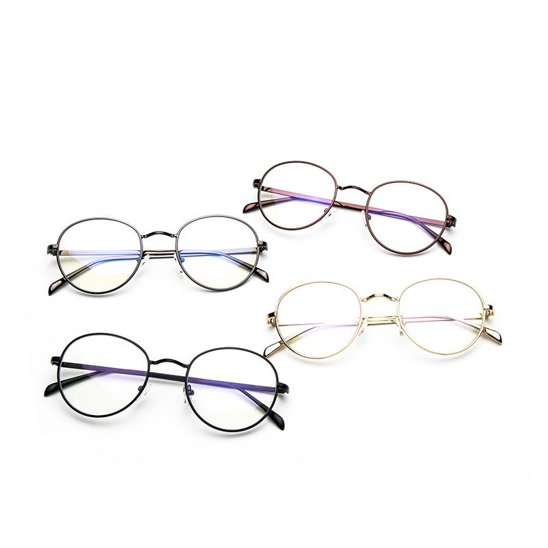 4 color 2015 New Fashion Men Women Unisex eyewear clear Metal Tiny Frame Rim computer Vintage Oculos De Grau Brand Design(China (Mainland))