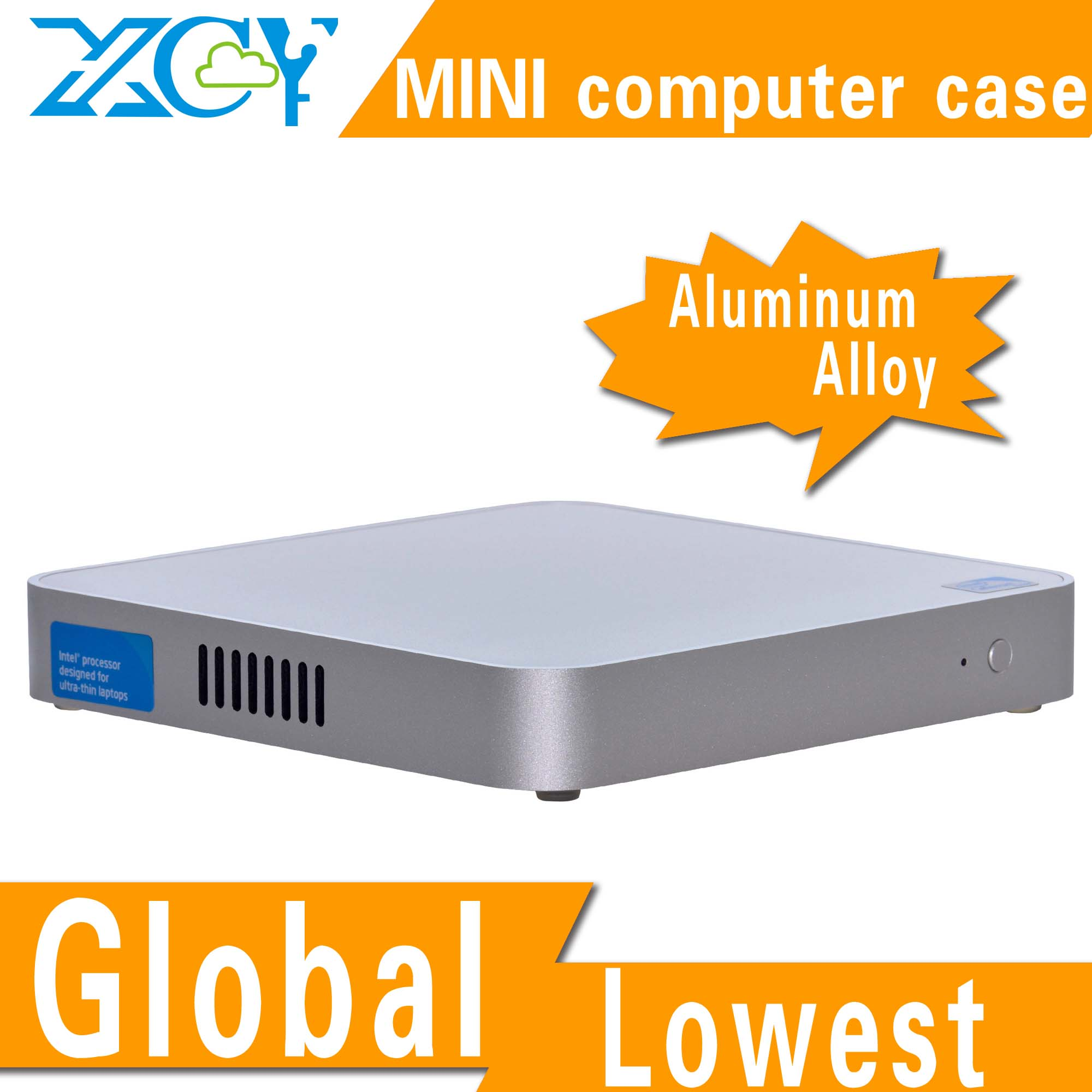 XCY X-26y industrial pc case, mini computer cases, htpc case aluminum computer enclosure support USB Port/switch /power(China (Mainland))