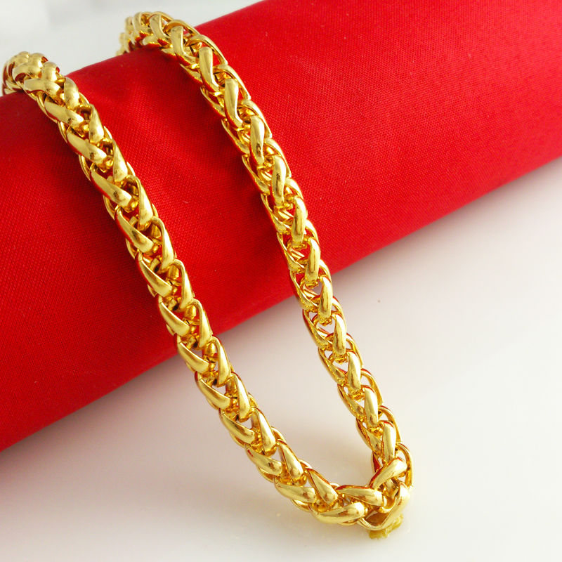 Heavy Gold Chain Necklace Heavy Gold Chain Fashion