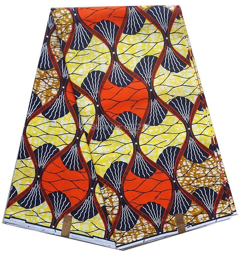 100%cotton super quality 6yards wax real veritable ankara dutch design hollandais fabric prints A643 wax batik