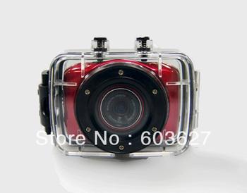 """2.0"""" TFT waterproof 720P 1.3million CMOS AVI Video camera PC cam car dvr camera Kdvr-DV10"""
