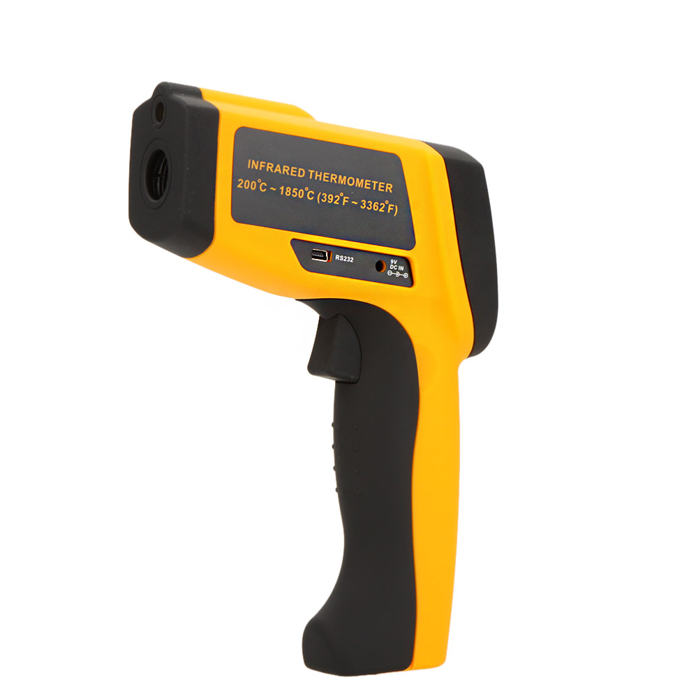 Digital Infrared IR Thermometer Laser Temperature Gun Tester termometro infravermelho digitale thermometre stazione meteo(China (Mainland))