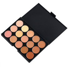 High QualityNew 15 color Eyeshadow Camouflage Concealer Palette Hot Selling