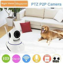 Умный Дом мини-Камера 433 МГЦ подключение к сигнализации датчик поддержка SD card Onvif 720 P HD инфракрасный контроль APP CCTV камера