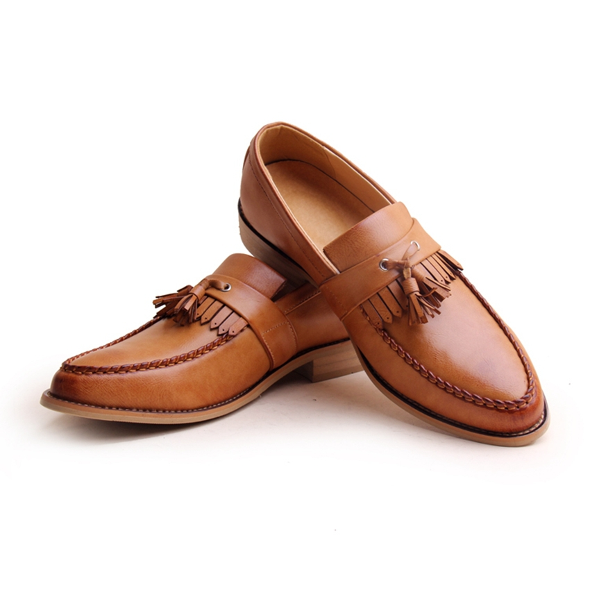Image Gallery Leather Moccasins For Men