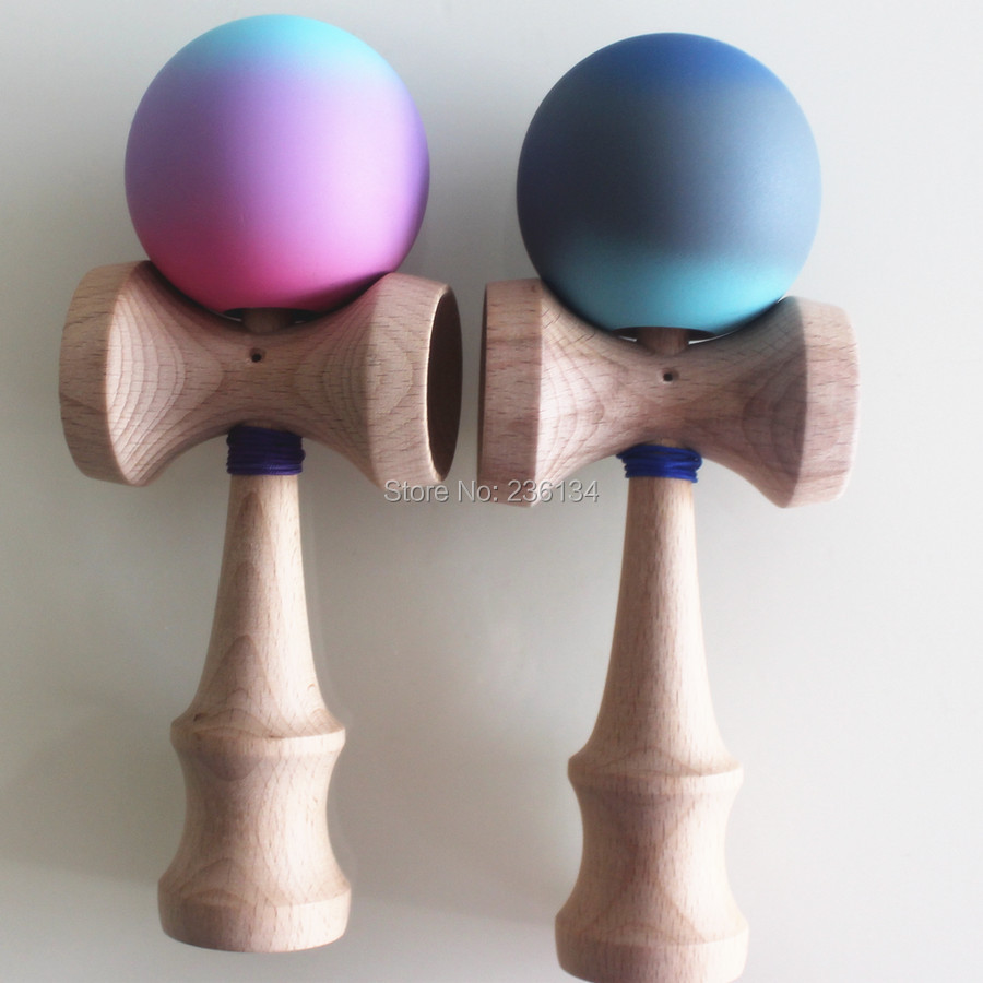 Jumbo rubber Paint Kendama Rubber Ball Kid Kendamas Japanese Traditional Toy Wooden Ball 25cm Skillful Toy for Children(China (Mainland))