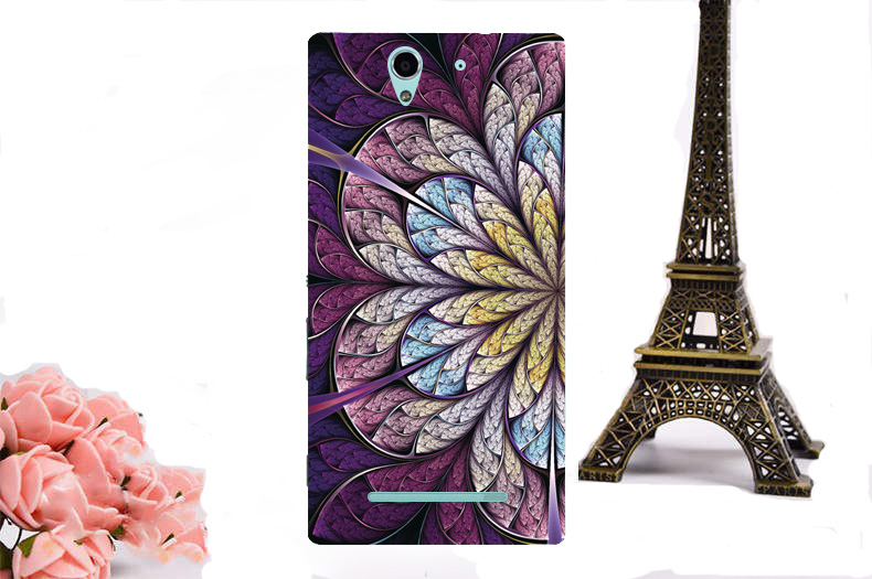 Instock ! UV Printed Hard Plastic Case For Sony Xperia C3 S55T S55U D2533 Dual D2502 Phone Case Back Cover