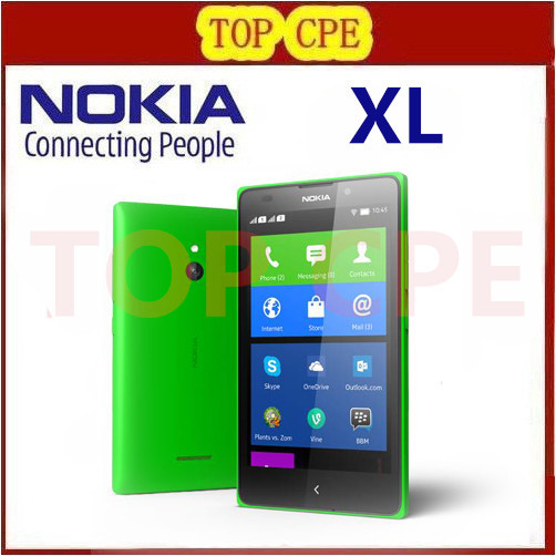 Unlocked Original Nokia XL 1030 Qualcomm Dual SIM Cell Phones 5 inch 768MB LCD Screen 5.0MP Camera 3G WCDMA Nokia 1030(China (Mainland))