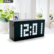 CH KOSDA Large Digital Decorative LED Alarm Wall Clock Table Desktop Temperature Calendar Big Number Snooze - Guangzhou Chihai Electronic Co., Ltd. store