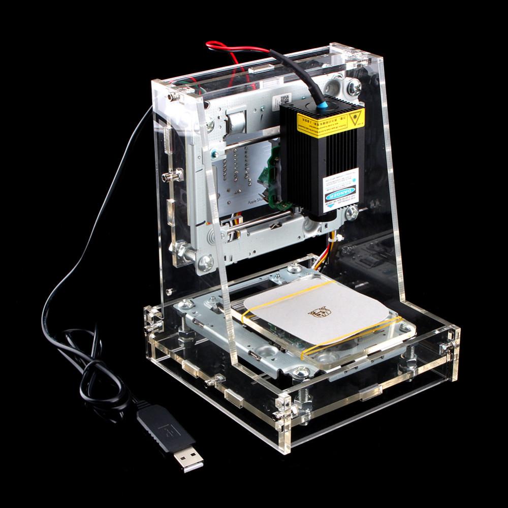 Купить DIY Mini USB Лазер 300 МВт Гравировальный Станок Резьба Логотип Картина Маркировки Принтера