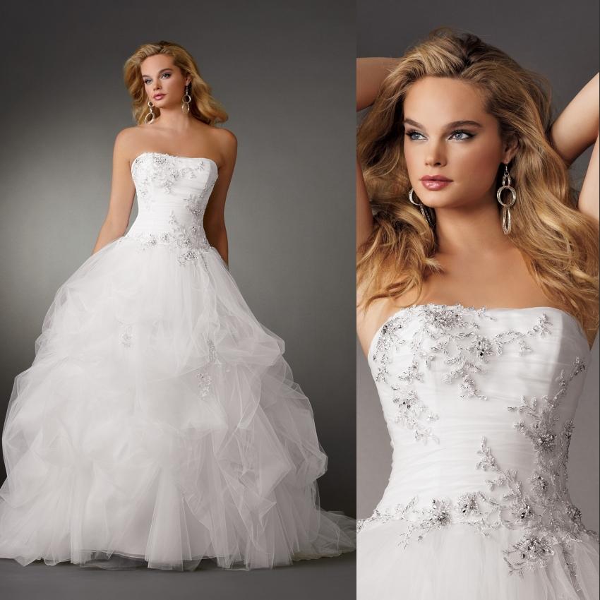 Fashion strapless flower beading ball gown designer bridal for Wedding dress beading patterns