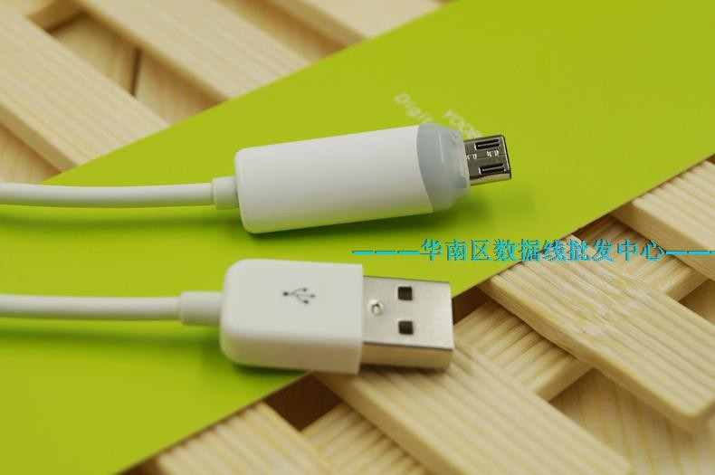 20pcs 1M Micro USB charger Cable LED 2a Fast Charging cabo Power Sync Round Cords for Samsung LG Android Cellphone wholesales(China (Mainland))